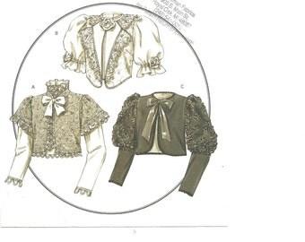 Butterick  B4952 Jacket / Top / Historical Wardrobe 6 8 10 12 2006