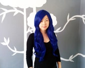 SALE: Tardis - Blue Superlong Wig - FREE SHIPPING