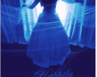 Liliya's Cathedral length Personalized Happily Ever After drop veil