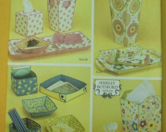 Simplicity 4362 Fabric containers