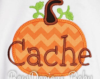 Personalized Pumpkin Shirt, Thanksgiving Shirt, Halloween Shirt, Monogrammed Pumpkin Shirt, Boys Thanksgiving Shirt, Boys Thanksgiving