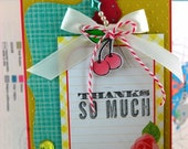 Thanks so Much Sweetness Handmade Card