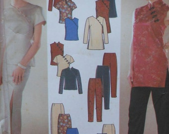 Tunic, Pants, and Skirt Sewing Pattern UNCUT Simplicity 9868 Sizes 6-12