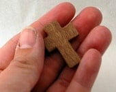 Pocket Cross With Poem Gift Card