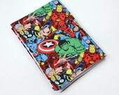 Marvel Baby Waterproof Changing Pad Gender Neutral Baby Shower Gift, Super Hero Baby Lovey, Travel Changing Pad