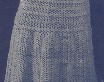 Downton Era Crochet Petticoat Pattern Digital Download Costuming Reenactment