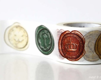 MT Wax Seal Washi Tape 30mm wide washi tape Japanese card making scrapbooking - from PrettyTape