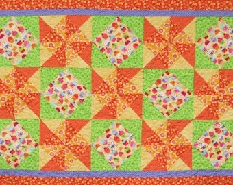 Happy Cupcakes Table Runner Pattern QCP-106