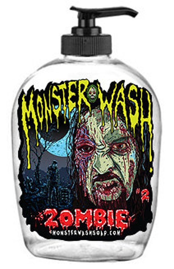 Zombie! Horror Themed, Collectible Soap Dispensers