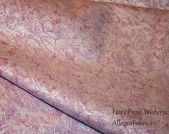 Fairy Frost Fabric by Michael Miller Frozen Elsa Anna Princess Costume Shimmer Shiny Opalescence Wisteria Lavender Purple