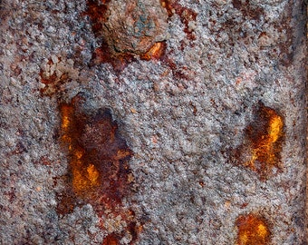 Rusted Metal Coastal Corrosion Series - Signed Limited Edition Fine Art Photo Print - Gallery Quality Wall Art, Various Sizes and Finishes