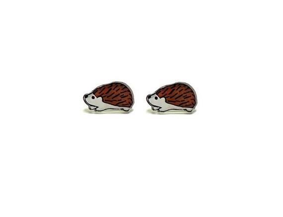 Lil' Hedgehogs, Stud Earrings