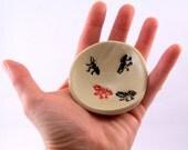 Ants Go Marching - Wee Bowl Set- Teabag holder - Snack Bowl Party Set