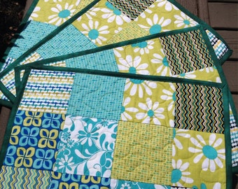 Crazy Daisy Placemats *Set of 4*