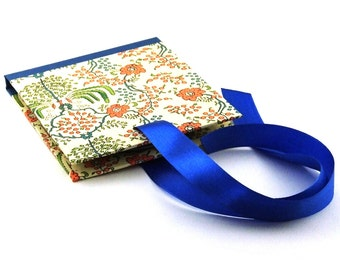 CD / DVD case Art Nouveau orange green blue, photographer packaging