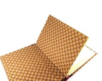 DIN A5 blank book, copper notebook, brown journal