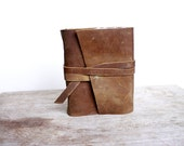 Leather bound Journal, Aerie, Nature, Handbound