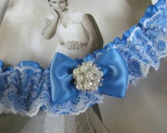Cornflower Blue Garter