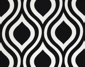 Premier Prints, Emily Black - home decor fabric, Half  Yard