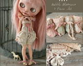 """Pre-order~ """"Decadent Roadside Extravaganza""""- Bubble Bloomers- 5 Piece Set for Blythe Dolls"""