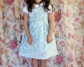 Girl pastel dress. Wedding, Easter, Birthday, special occasions.