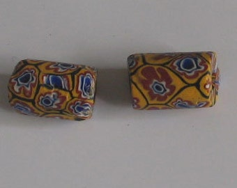 SALE 2 pieces  AfricanTrade Beads
