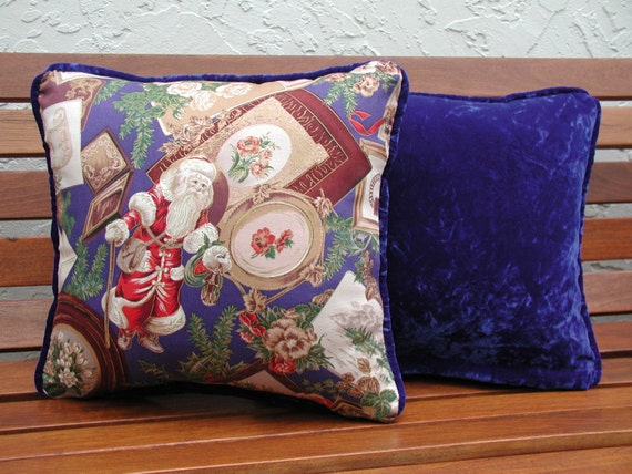 Victorian Throw Pillows : Decorative Throw Pillow Set Victorian Christmas by rrdesigns561