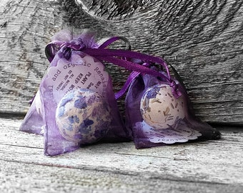 Seed Bomb Wedding Favors Customize Organza Favors, 2 x 3,  50 Wedding Favours with Seed Bomb Ball Gardening