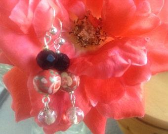English Rose Earrings