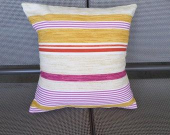 Home Decor Striped Cotton Pillow Cover