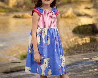 Market Dress Flutter Sleeve Pattern