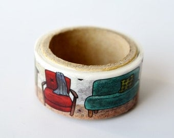 Sofa Yano design debut series washi tape 20mm x 5M
