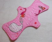 Out to Sea--Pink-- 11 Inch Cloth Pad