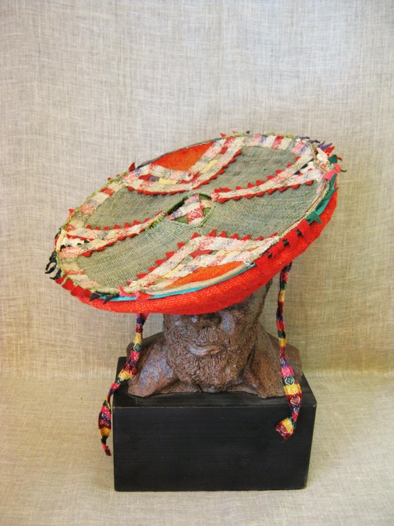 Hat Traditional Peruvian Hat Headwear Costume Tribal