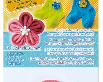 Clover Extra Small Kanzashi Flower Maker Orchid Petal Part No. 8493