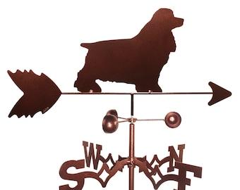 Hand Made Cocker Spaniel Dog Weathervane New