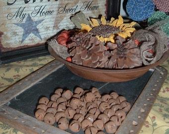 12 MM Rusty Tin Jingle 48 Bells  Primitive Crafts Rustic