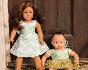 Lorelei Doll Dress PDF Pattern