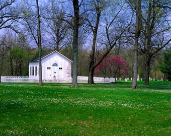 Four Season Fine Art Photo, Battle Ground Chapel, Tippecanoe County,  Indiana