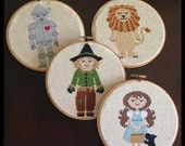 CUSTOM ORDER - Wizard of Oz Cross Stitch for Steph