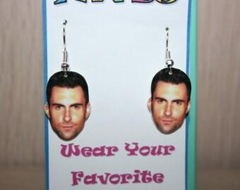 Adam Levine Maroon 5 Dangle Earrings Celebrity Jewelry