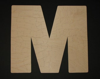 75 pc Personalized Guest Book INITIAL puzzle - Hand Cut Wooden Jigsaw for wedding, anniversary