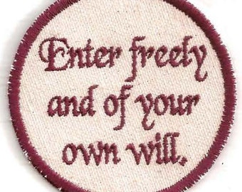 Dracula, Enter Freely Patch