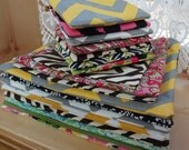 Zipper Bag / This listing is for 1 zipper pouch / 4 sizes available / Organize / Makeup Bag / Cosmetic Bags / Gadget Bags