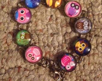 Cute Owl  image Bracelet Part Two