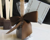 Dark Chocolate Hot Chocolate on a Stick