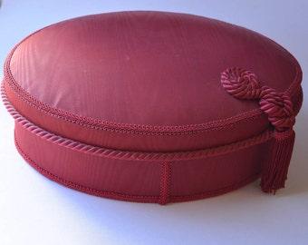 Vintage Borghese Padded Box Princess Marcella Borghese Vanity Box Hat Box