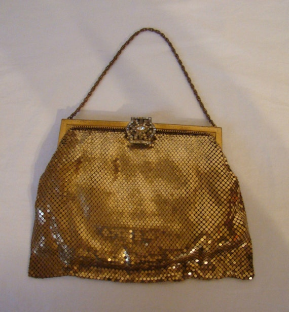 Vintage Whiting And Davis Mesh Purse 26