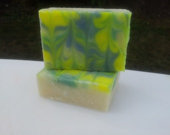 White Tea and Ginger Cold Process Soap--Available October 6th.