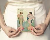 Will You Be My Bridesmaid Card, Bridesmaid Invitation, Art Deco Bridesmaid Card, Bridesmaid Card, Bridesmaid Gift